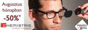 Létezik szemüvegeseknek tökéletes napszemüveg megoldás? IGEN, Chemistrie CLIP-On!